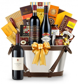 Verite La Joie Cabernet Sauvignon Wine Basket - Martha's Vineyard