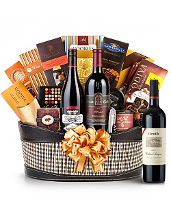Groth Reserve Cabernet Sauvignon Wine Basket - Martha's Vineyard