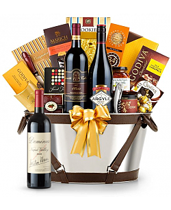 Dominus Estate 2008 - Martha's Vineyard Luxury Wine Basket