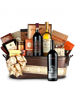 Silver Oak Napa Valley Cabernet Sauvignon Wine Basket - Martha's Vineyard