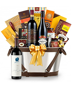 Opus One 2010 Wine Basket-Martha's Vineyard