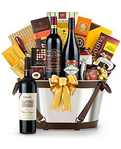 Groth Reserve Cabernet Sauvignon 2009 -Martha's Vineyard Luxury Wine Basket