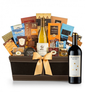Hundred Acre Cabernet Sauvignon Wine Basket - Cape Cod