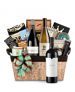 Merryvale Profile Wine Basket - Cape Cod