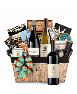 Peter Michael Les Pavots 2007 - Cape Cod Luxury Wine Basket