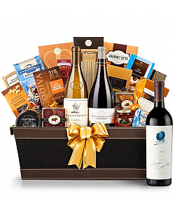 Opus One Wine Basket - Cape Cod