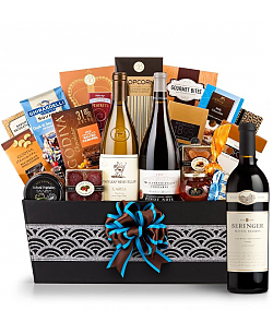 Cape Cod Luxury Wine Basket-Beringer Private Reserve Cabernet Sauvignon