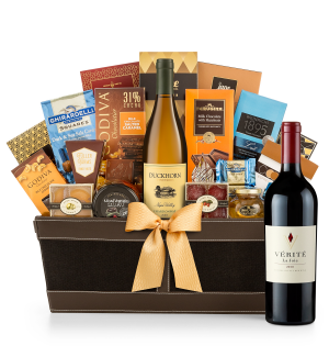 Premium Wine Baskets: Verite La Joie Cabernet Sauvignon 2010 - Cape Cod Luxury Wine Basket