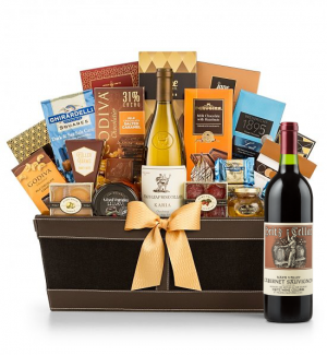 Premium Wine Baskets: Heitz Cellars Napa Valley Cabernet 2011 - Cape Cod Luxury Wine Basket