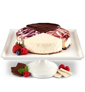 Sampler Cheesecake