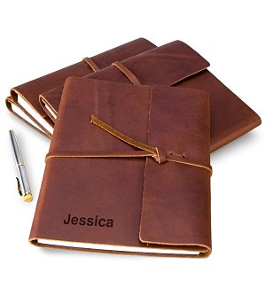 Fine Leather Journal with Free Embossing