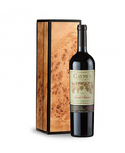 Caymus Special Selection Cabernet Sauvignon 2010 in Handcrafted Burlwood Box