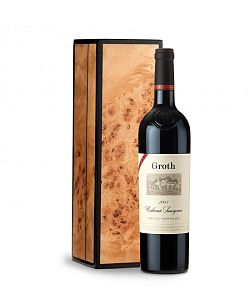 Groth Reserve 2008 Cabernet Sauvignon in Handcrafted Burlwood Box