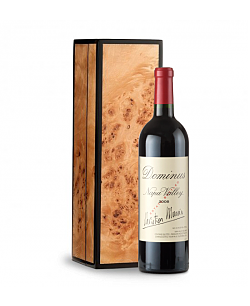 Dominus Estate 2008 in Handcrafted Burlwood Box