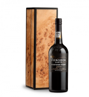 Fonseca Vintage Port 2007 in Handcrafted Burlwood Box