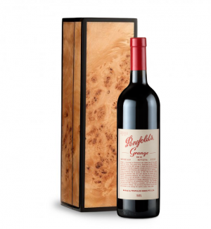 Penfolds Grange 2007 in Handcrafted Burlwood Box
