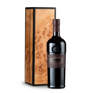 Joseph Phelps Napa Valley Insignia Red 2008 in Handcrafted Burlwood Box