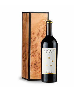 Hundred Acre Ark Vineyard Cabernet Sauvignon 2010 in Handcrafted Burlwood Box