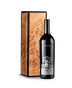 Silver Oak Napa Valley 2008 Cabernet Sauvignon in Handcrafted Burlwood Box