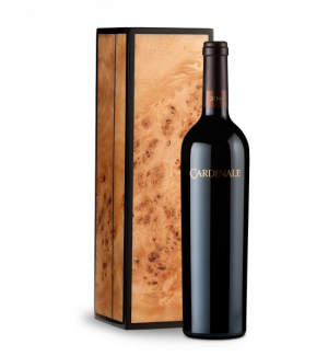 Cardinale Cabernet Sauvignon 2010 in Handcrafted Burlwood Box