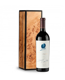Opus One 2010 in Handcrafted Burlwood Box