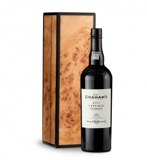 Graham's Vintage Port 2011 in Handcrafted Burlwood Box