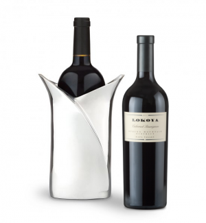 Lokoya Cabernet Sauvignon 2007 with Luxury Wine Holder