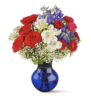 Pure Patriotism Bouquet