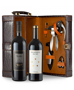 Shafer Hillside Select 2008 Cabernet Sauvignon & Hundred Acre 2009 Cabernet Sauvignon Connoisseur's Collection