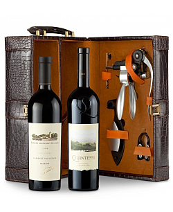 Robert Mondavi Reserve Cabernet Sauvignon 2009 & Quintessa Meritage Red 2009 Connoisseur's Collection