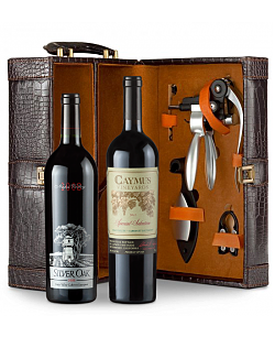 Caymus Special Selection Cabernet Sauvignon 2011 and Silver Oak Napa Valley Cabernet Sauvignon 2008 Connoisseur's Collection