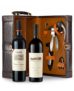 Robert Mondavi Reserve Cabernet Sauvignon 2009 and Groth Reserve Cabernet Sauvignon 2009 Connoisseur's Collection