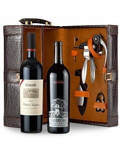 Silver Oak Napa Valley Cabernet Sauvignon 2008 and Groth Reserve Cabernet Sauvignon 2009  Connoisseur's Collection
