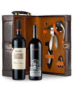 Silver Oak Napa Valley Cabernet Sauvignon 2009 and Groth Reserve Cabernet Sauvignon 2009  Connoisseur's Collection