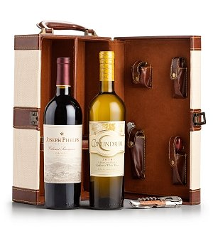 Fine Wine Tote with Your Choice of Wine