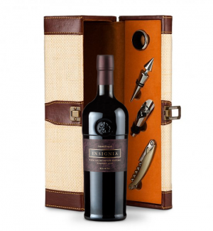 Joseph Phelps Napa Valley Insignia Red 2008 Wine Steward Luxury Caddy