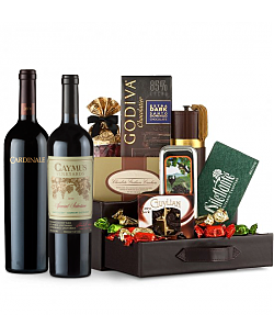 Caymus Special Selection & Cardinale Wine and Chocolate Perfection