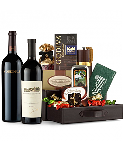 Robert Mondavi Reserve Cabernet Sauvignon 2009 & Cardinale Cabernet Sauvignon 2006 Wine and Chocolate Perfection