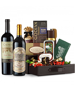 Far Niente Cabernet Sauvignon & Caymus Special Selection Wine and Chocolate Perfection