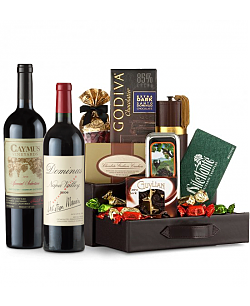 Caymus Special Selection & Dominus Estate Wine and Chocolate Perfection
