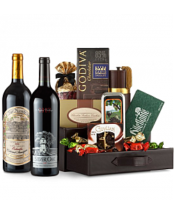 Silver Oak & Far Niente Estate Cabernet Sauvignon Wine and Chocolate Perfection