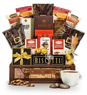 Warm Wishes Coffee Gift Basket