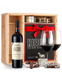 Groth Reserve Cabernet Sauvignon 2008 Private Cellar Gift Set