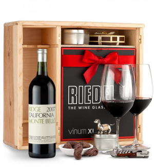 Ridge Monte Bello 2007 Private Cellar Gift Set