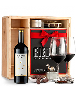 Hundred Acre Ark Vineyard Cabernet Sauvignon 2010 Private Cellar Gift Set