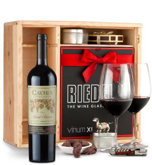 Wine Gift Boxes: Caymus Special Selection Cabernet Sauvignon 2013 Private Cellar Gift Set