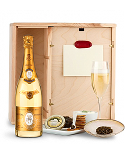 Louis Roederer Cristal Brut 2005 Ultimate Champagne & Caviar Experience