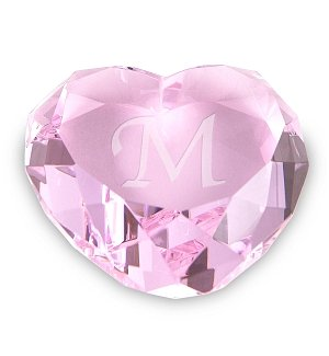 Crystal Keepsake Heart
