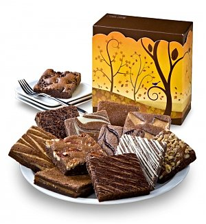 One Dozen Fall Brownies