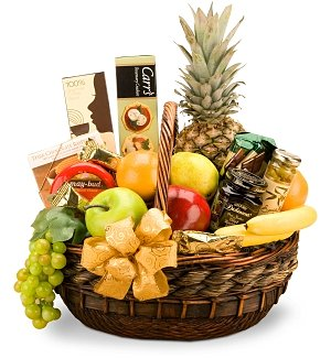 Holiday Abundance Fruit & Gourmet Basket